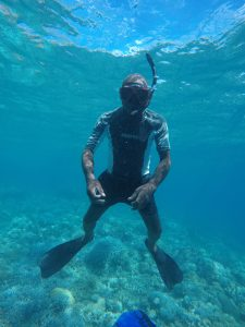 Freediving buddy